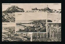Channel Islands JERSEY Novelty Pocket M/view Used 1934 PPC