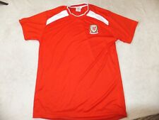 Wales Football Fans T Shirt Size L Large Adult Mint Condition A29