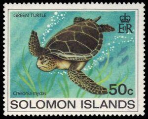 "SOLOMON ISLANDS 492 - Green Sea Turtle ""Chelonia mydas"" (pa93433)"
