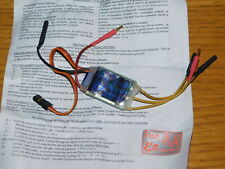 FLASH 08-K3 SENSORLESS CONTROLLER 7-10 cells NiMh 2-3 lipo electronic variateur