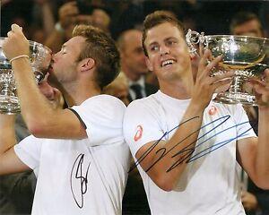 Jack Sock Vasek Pospisil Wimbledon TENNIS 8x10 Photo Dual Signed Auto