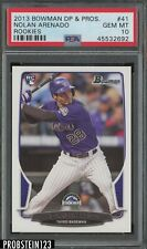 2013 Bowman Draft #41 Nolan Arenado COLORADO ROCKIES PSA 10 GEM MINT