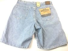 Lee Dungarees Women Classic Short  Size 34 Retro Stone Blue Can't Bust 'Em New
