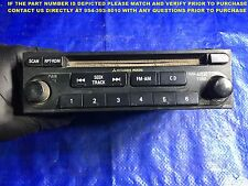 OEM 2004 2005 MITSUBISHI GALANT AM FM RADIO CD PLAYER MATCH PART# MR306775