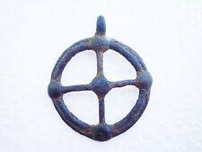 RARE ANCIENT Bronze Khazar Khanate PENDANT AMULET  7 - 9 century AD