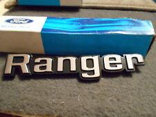 """NOS 1976 1977 1978 1979 FORD F150 F250 F350 """"RANGER"""" RANGER BODY SIDE EMBLEM NEW"""