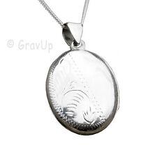 Medallion mit  Kette Silber 925 optional mit Gravur