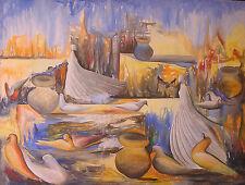 Stunning Painting by Haitian Artist Cupidon