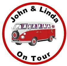 Wohnmobil on Tour (rot) - Fun Auto steuerscheibenhalter - PERSONALISIERTER 4 U -
