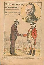 Caricature Politique John Bull Ramsay MacDonald Election England Angleterre 1931