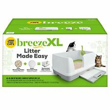 Purina Tidy Cats Non Clumping Litter System, Breeze Xl All-in-One Odor Control &