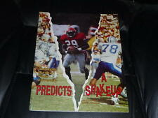 1993 SOUTHEAST MISSOURI STATE COLLEGE FOOTBALL MEDIA GUIDE EX-MINT BOX 36