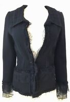 Oscar De La Renta Jacket Women Evening Jacket Size 4