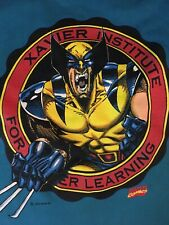 Marvel Wolverine Youth Tshirt Size S 8/10 1993