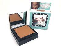 Benefit ** Hello Flawless ** NUTMEG Custom Powder Cover Up 0.25 oz Boxed