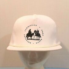 VTG NWMP Police Boundary Commission Route RCMP Truckers Dad Hat Mesh Cap