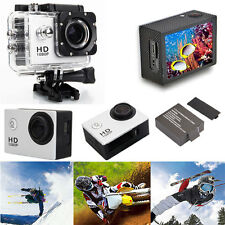"2.0"" Waterproof Sports DV Action HD 1080P Camera Pro Camcorder Recorder Cam US"