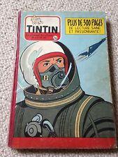 recueil reliure journal tintin belge 26 (1954) + calendrier tintin + timbres TBE
