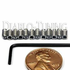 M3 x 6mm Stainless Steel Saddle Height Screws 12 & Hex - Fender MIM Stratocaster