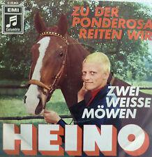 """7"""" 1969 MINT- ! HEINO ( ohne Brille ) : Zu der Ponderosa reiten wir"""