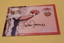 Pittsburgh Steelers Fleer Autographics Rookie ON CARD Auto Danny Farmer UCLA