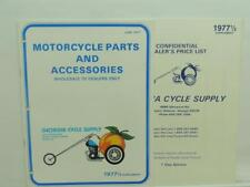 1977 Georgia Cycle Supply Dealer Motorcycle Parts And Accessories Chopper L11932