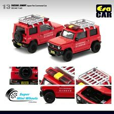 ERA Car 1/64 Suzuki Jimny Japan Fire Command Car #13 (Red)