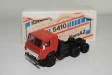 1:43 RUSSIAN CCCP NOVOEXPORT USSR KAMAZ 5410 TRUCK RED MINT BOXED