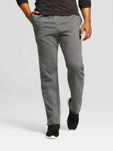 C9 Champion Men's Authentic Fleece Sweatpants Charcoal / Gray Large Breathable