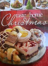 Taste of Home Christmas Cookbook new hardcover with delicious recipes & crafts