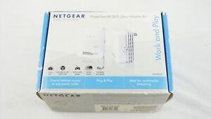 Netgear Powerline AV 200 Adapter Kit ~ XAVB2001 Brand New OPEN Box f5