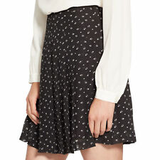 Lauren Ralph Lauren A Line Geometric Print Georgette Skirt - Size 14 - NIPWT