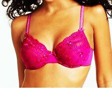 Bügel Soft BH von Nuance Gr. 90, 95 CUP D Spitze in pink NEU