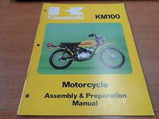 OEM Kawasaki 1976-1978 KM100-A4 Assembly And Prep Manual 99931-1024-01