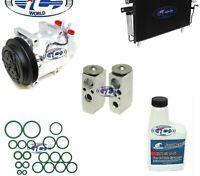 A/C Compressor & Condenser Kit Fits Pathfinder 01-04 QX4 01-03 OEM CWV618 67435