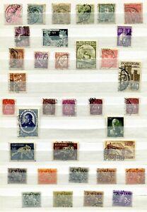 80+ Portuguese Stamps.