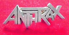 """Anthrax / Cool Jewelry / Pin-on / vintage 90's / New condition / 5/8 x 1 7/8"""""""