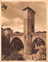 Br45029 Orthez le vieux pont Hormantoxone Publicite advertaising france