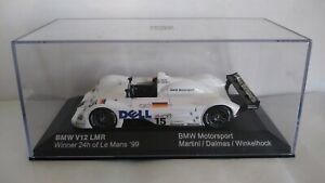 BMW V12 LMR WINNER 24H LE MANS 1999 MINICHAMPS SCALA 1/43
