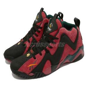 Reebok Kamikaze II 2 Sonics Alternate Black Red Men Basketball Shoes FZ4006