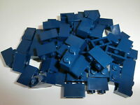 Lego City / Classic 60 Building Bricks 3004 in Dark Blue 1x2 Knob-Virgin