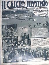 IL Calcio Illustrato 19/05/1949 Sciagura aerea Torino nuovo Stadio  [GS35]