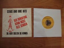PROMO rolling stones-EP / Stars Und Ihre Hits August 1966 /,Small Faces,
