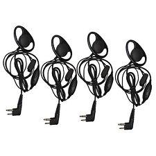4-pack Packung D Form Hörer Headset für Motorola CLS Ct Dtr Fd Mv Rdu Sv Su