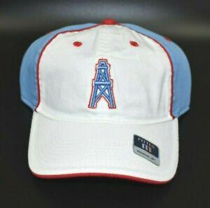 Houston Oilers Reebok NFL Gridiron Classic Men's Fitted Cap Hat - Size: Medium