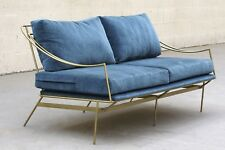 Custom 1960s Inspired Hairpin Sofa by Rehab Vintage Interiors