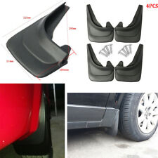 4Pcs Car Fender Trim Mud Flaps Protect Mudguards Splash Flares Guard Black ABS