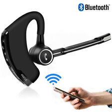 HD Bluetooth Headset Hands-free Wireless Mobile Earpiece w/ Mic for Apple iPhone