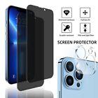 For iPhone 13 Pro Max,Pro,13 Mini Anti-Spy Privacy Glass Screen Camera Protector
