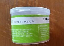 Phonak hearing aids drying jar, works with varied hearing aids BTE / CIC / ITE